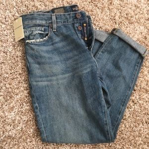 NWT Lucky Brand Jeans Size 6/28 boyfriend fit